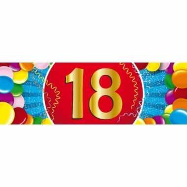 Leeftijd sticker 18 jaar