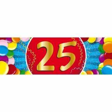 Leeftijd sticker 25 jaar