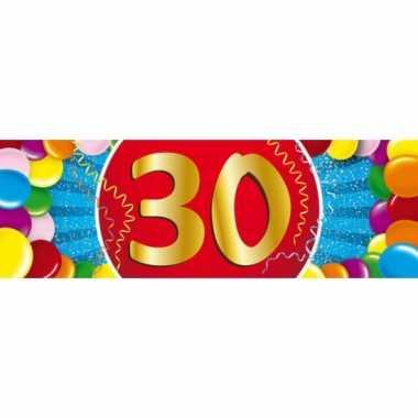 Leeftijd sticker 30 jaar
