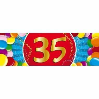 Leeftijd sticker 35 jaar