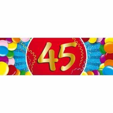 Leeftijd sticker 45 jaar