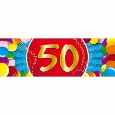 Leeftijd sticker 50 jaar