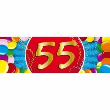 Leeftijd sticker 55 jaar
