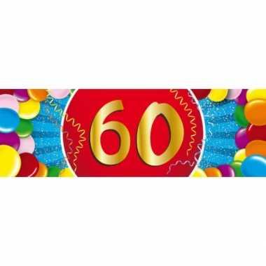 Leeftijd sticker 60 jaar