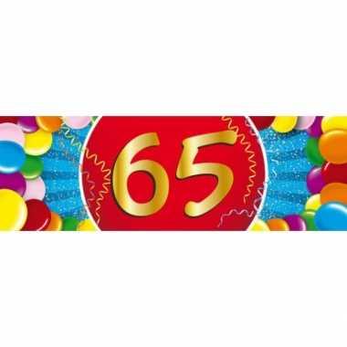 Leeftijd sticker 65 jaar