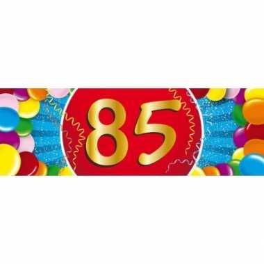 Leeftijd sticker 85 jaar