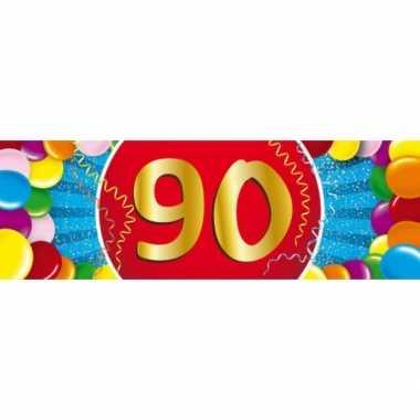 Leeftijd sticker 90 jaar