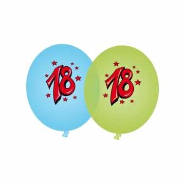 Leeftijd versiering 18 jaar ballonnen