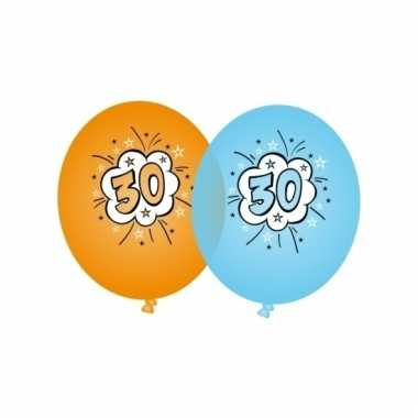 Leeftijd versiering 30 jaar ballonnen