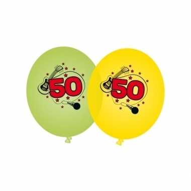 Leeftijd versiering 50 jaar ballonnen