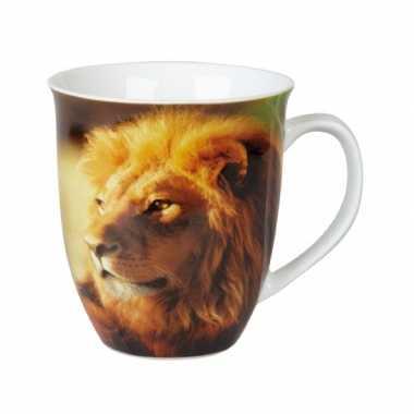 Leeuw koffiemok