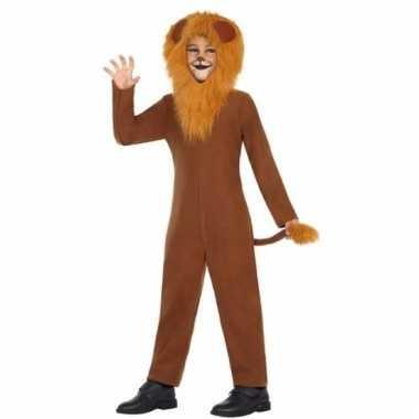 Leeuw leo verkleedoutfit voor kinderen