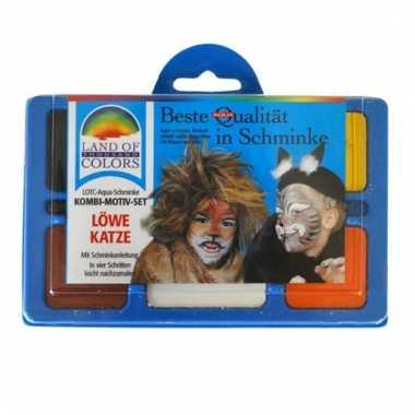 Leeuw schminken schminkset
