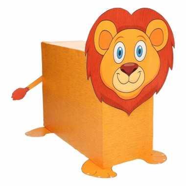 Leeuw suprise knutselen diy pakket