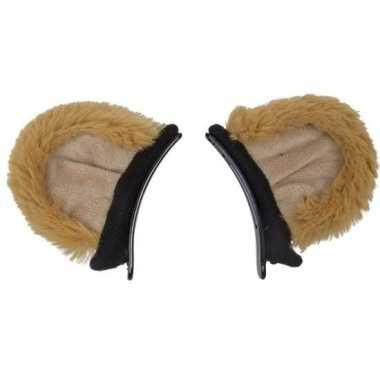 Leeuwen dieren verkleedset oren voor kinderen