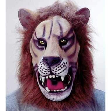 Leeuwen masker van latex