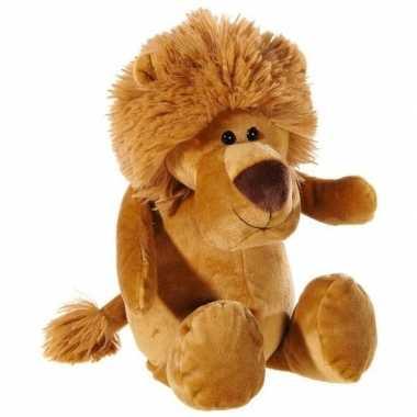 Leeuwtje knuffeldier pluche 33 cm