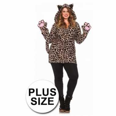 Leg avenue luipaard kostuum grote maat
