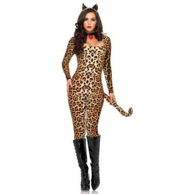 Leg avenue sexy luipaard catsuit met oortjes