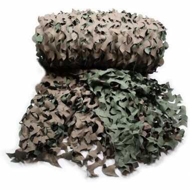 Leger camouflage netten 3 x 2,4 m