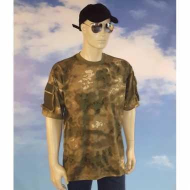 Leger shirt camouflage voor heren