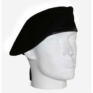 Leger soldaten baretten zwart