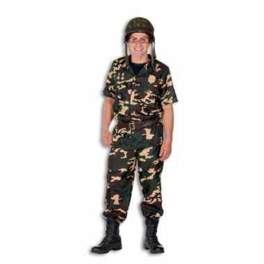 Leger soldaten kostuum heren