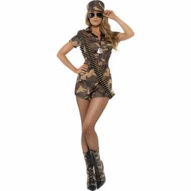 Leger verkleedkleding voor dames