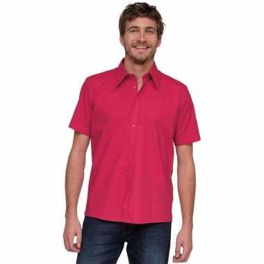 Lemon&soda overhemd voor heren roze