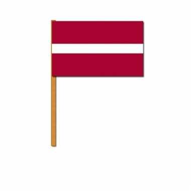Letland zwaaivlaggetjes