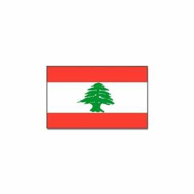 Libanese vlag 90x150 cm