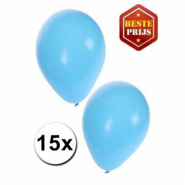 Lichtblauwe ballonnen pakket