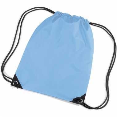 Lichtblauwe gymtasjes