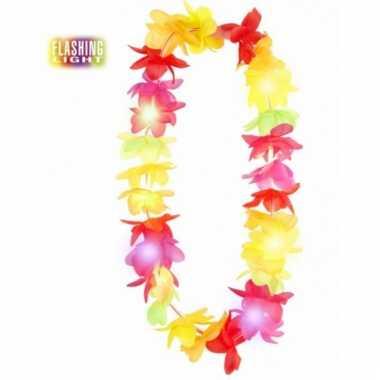 Lichtgevende hawaii krans