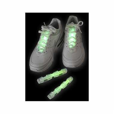Lichtgevende schoen verlichting groen