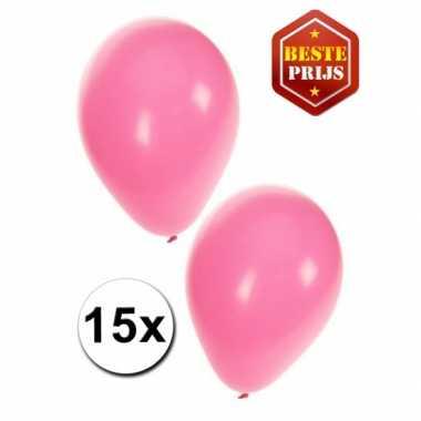 Lichtroze ballonnen pakket