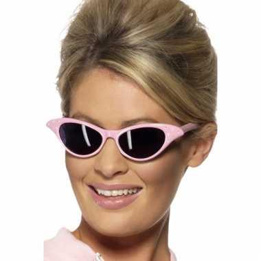Lichtroze zonnebril