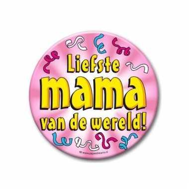 Liefste mama button xxl