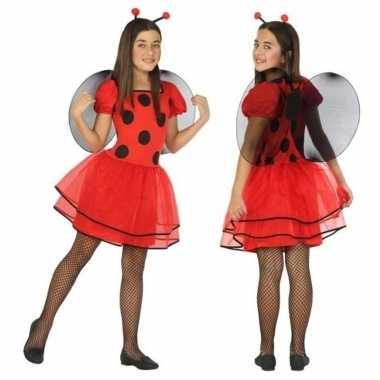 Lieveheersbeestje verkleedjurkje voor meisjes