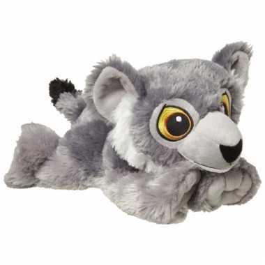 Liggende wolven knuffel 30 cm