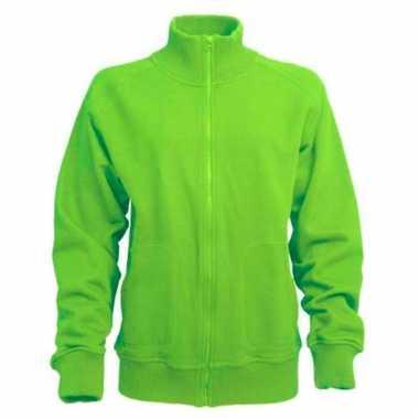 Lime groen vest voor volwassenen