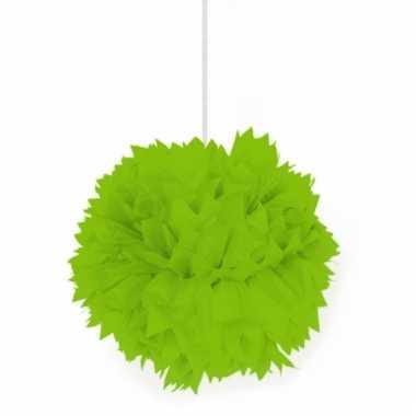 Lime groene decoratie bollen