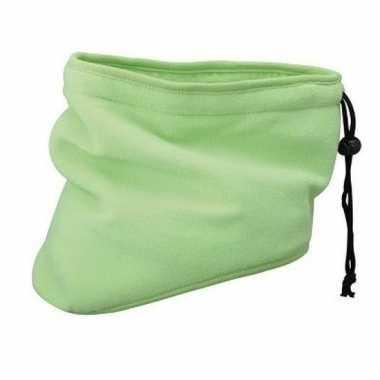 Lime groene nek sjaal van thinsulate