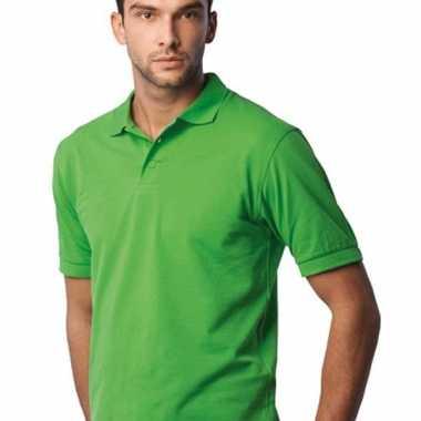 Lime groene poloshirts
