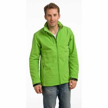 Lime polyester herenjas