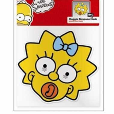 Maggie simpson maskers