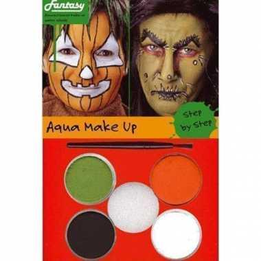 Make-up setje heks/pompoen