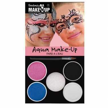 Make up setje prinses 5 kleuren