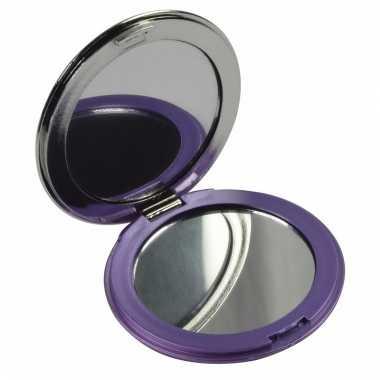 Make up spiegeltje paars