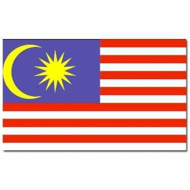 Maleisische vlag 90x150 cm